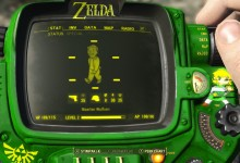 Pipboy Legend of Zelda Mod