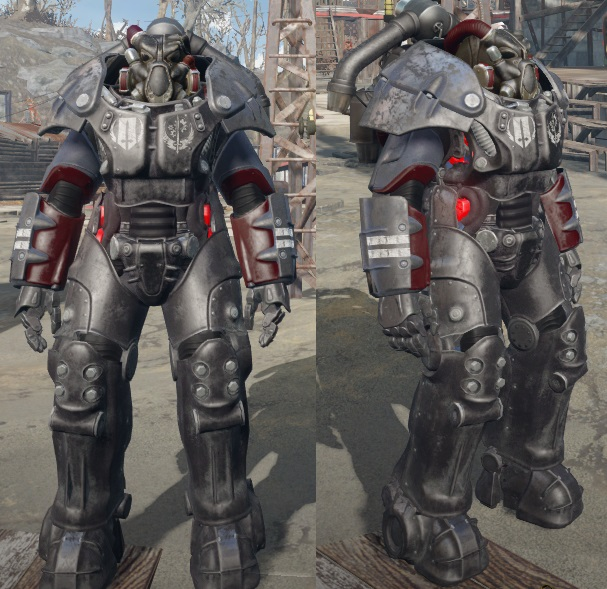 Standalone X-01 Brotherhood of Steel Power Armor Paint Set