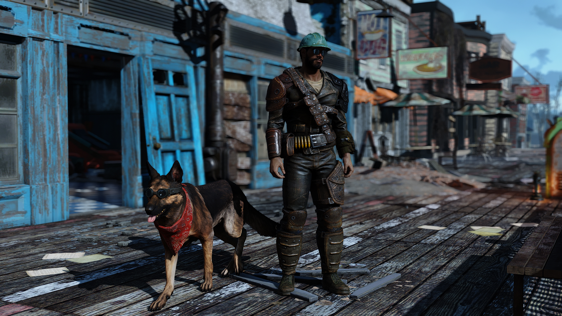 Grim Wolf ReShade Presets - Fallout 4 / FO4 mods
