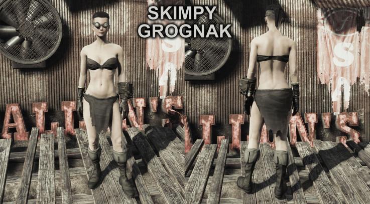 Skimpy Grognak Replacer - Fallout 4 / FO4 mods
