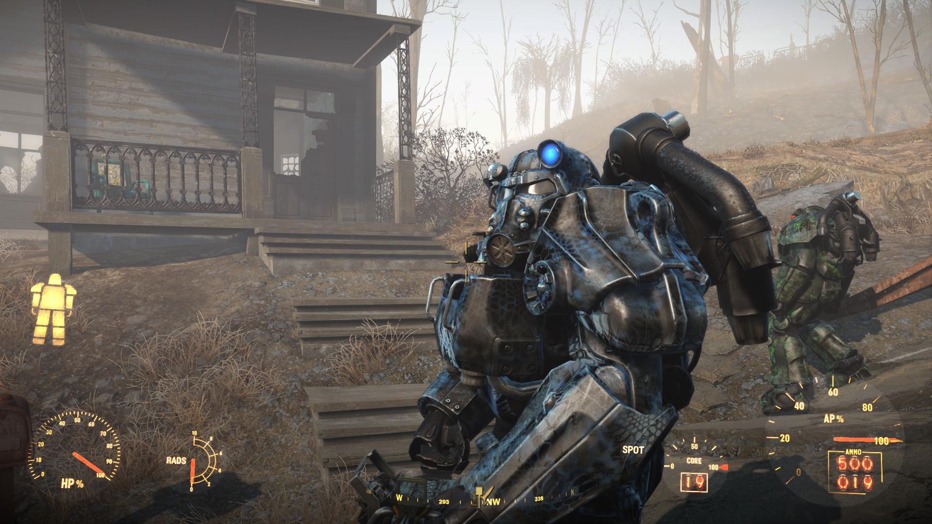 T60 power armor kryptek Neptune Camo By Radulykan - Fallout