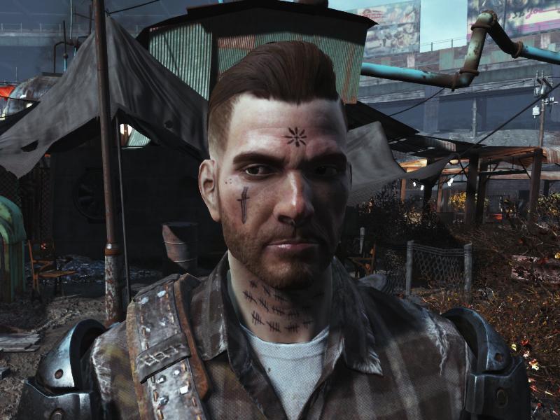 Wasteland Scratchers Shittier Tattoos Fallout 4 Fo4 Mods